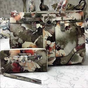 Guess Greyson handbag and matching wallet